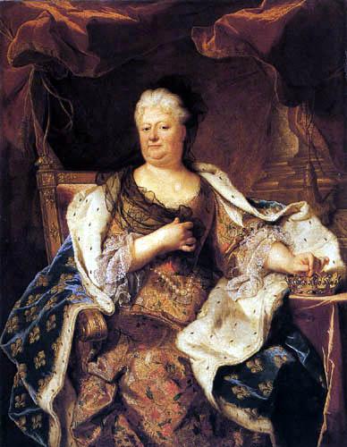 Hyacinthe Rigaud - Elisabeth-Charlotte de Bavière