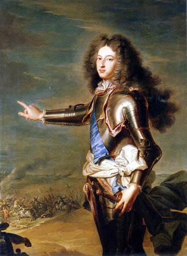 Hyacinthe Rigaud - Portrait Louis of France, Duke of Burgundy