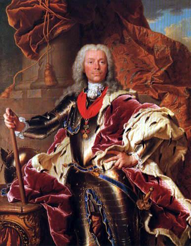 Hyacinthe Rigaud - Portrait of Prince Joseph Wenzel of Liechtenstein