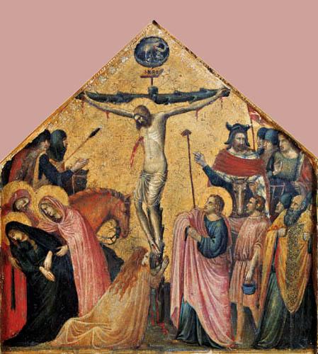 Pietro da Rimini - Crucifixion