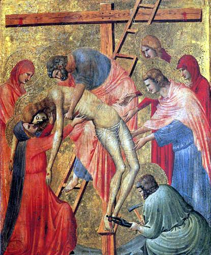Pietro da Rimini - Deposition from the cross