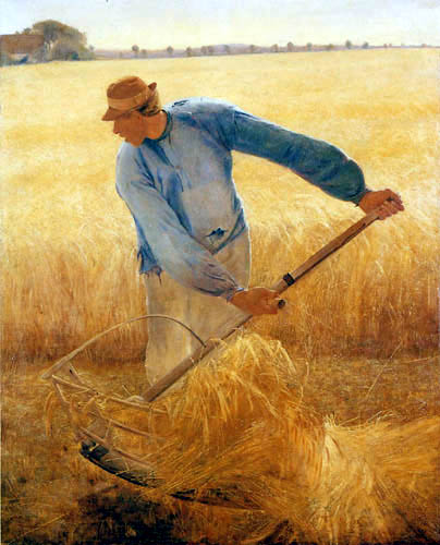 Lauritz Andersen Ring - At the harvest