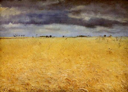 Lauritz Andersen Ring - A rye field