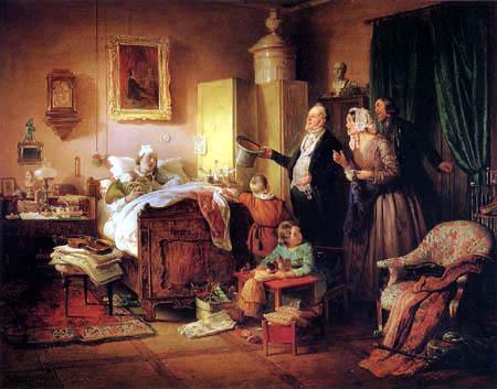 Eduard Ritter - The ill musician