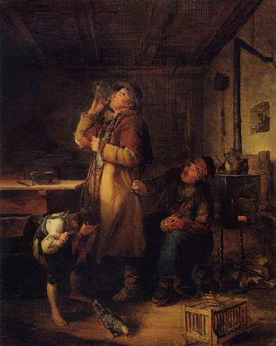 Eduard Ritter - The wage of the waggoner