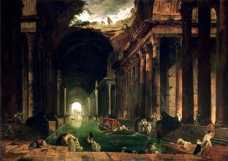 Hubert Robert - Classical life