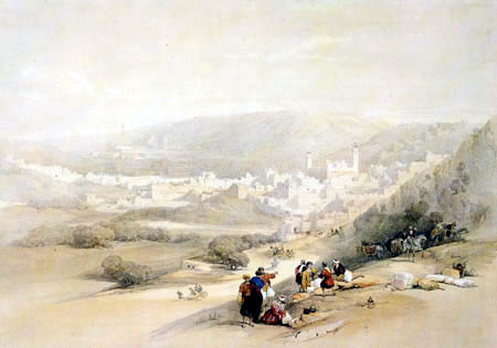 David Roberts - View of Hebron