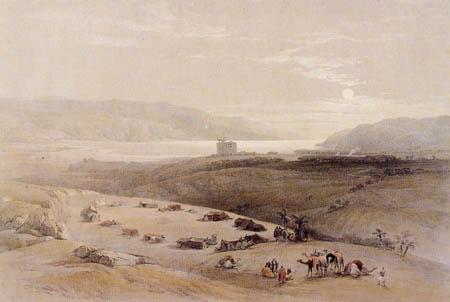 David Roberts - A journey to Jericho