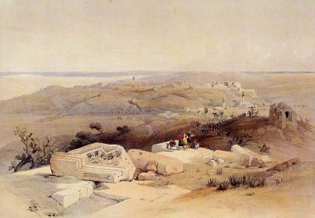 David Roberts - The ruins of Gaza