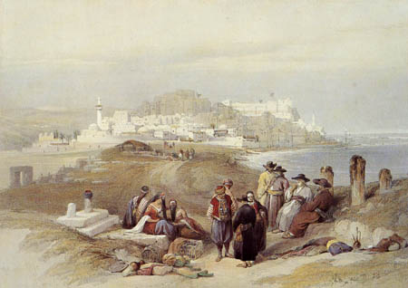 David Roberts - The historical city Jaffa