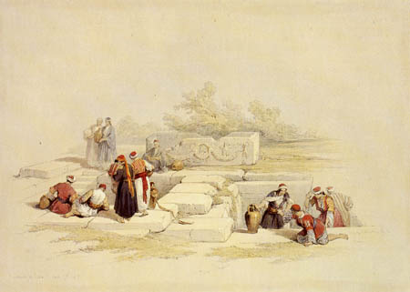 David Roberts - The well of Cana