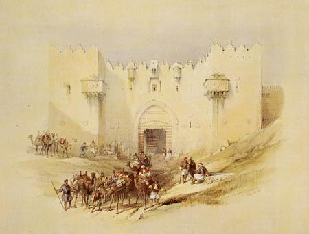 David Roberts - The Damascus gate