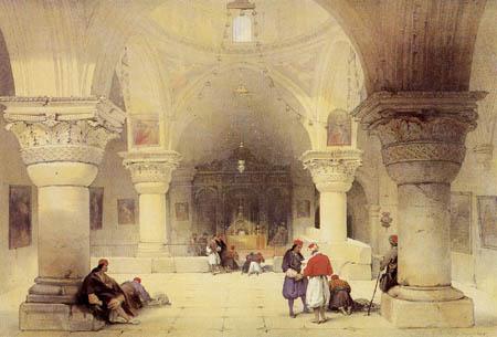 David Roberts - Die Kapelle St. Helena
