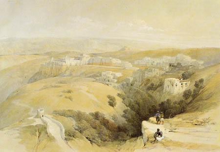 David Roberts - View of Bethlehem