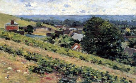 Theodore Robinson - View of Giverny