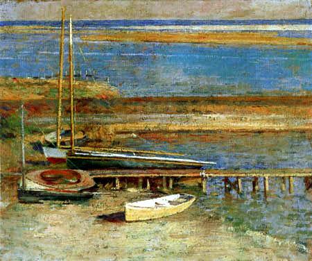 Theodore Robinson - Landing place