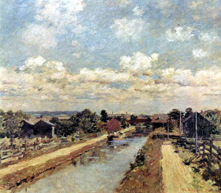 Theodore Robinson - Port Ben, Delaware and Hudson Canal