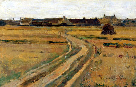 Theodore Robinson - Landscape, Macherin Flanders