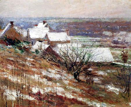 Theodore Robinson - Winter Landscape
