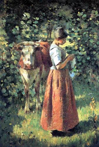 Theodore Robinson - Cowgirl