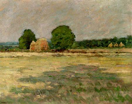 Theodore Robinson - Grain field