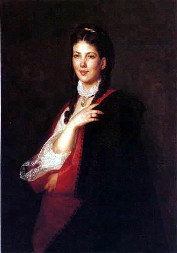 Henryk Rodakowski - Portrait of Leonia Blüdhorn