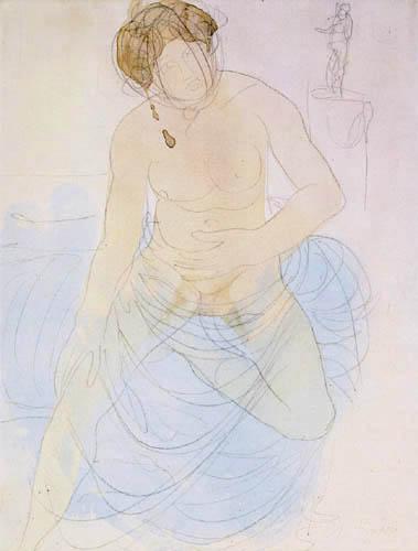 Auguste Rodin - Female Nude