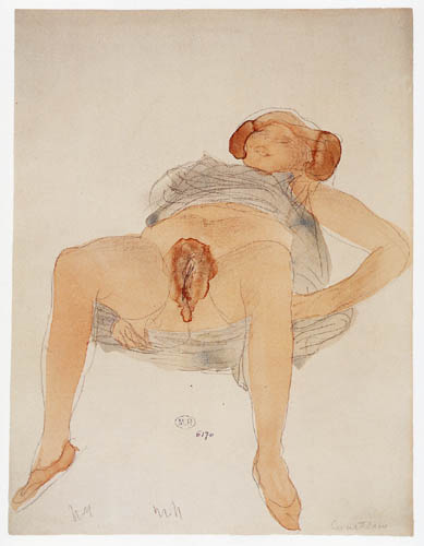 Auguste Rodin - Courtesan