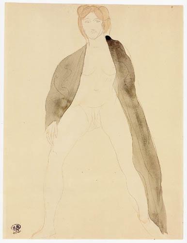 Auguste Rodin - Nude