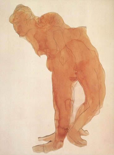 Auguste Rodin - Nudes, back-to-back