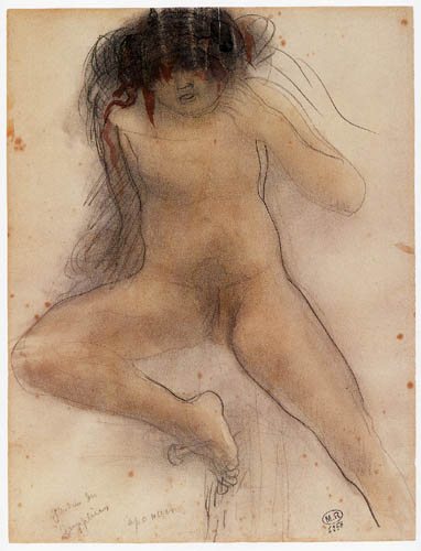 Auguste Rodin - Garden of the agonies