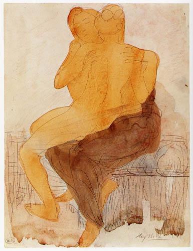 Auguste Rodin - Pareja sáfica