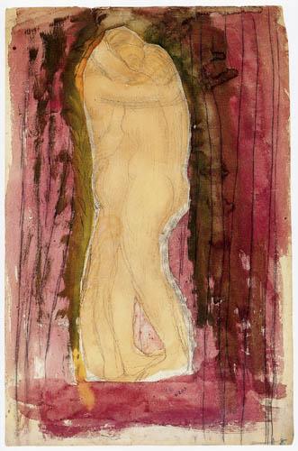 Auguste Rodin - Pareja desnuda