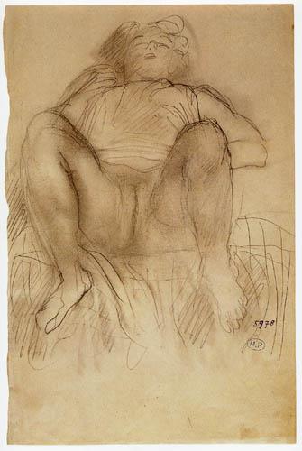 Auguste Rodin - Frauenakt
