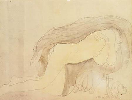 Auguste Rodin - Penitent Magdalen