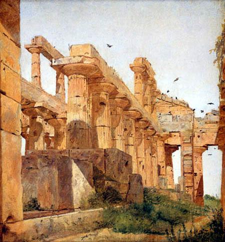 Jørgen Roed - Temple of Poseidon at Paestum
