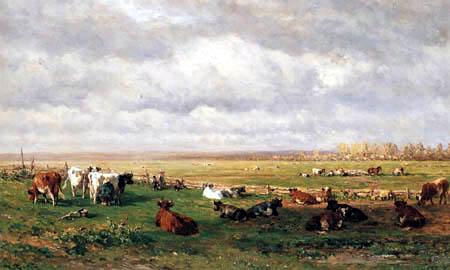 Willem Roelofs - Cows