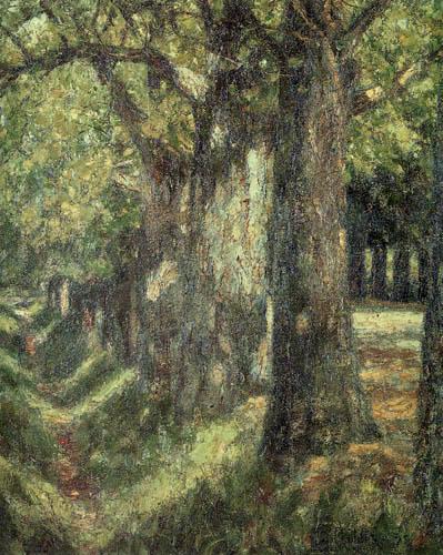 Christian Rohlfs - Avenue near Weimar