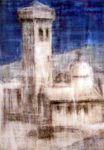 Christian Rohlfs - Castle near Bellinzona