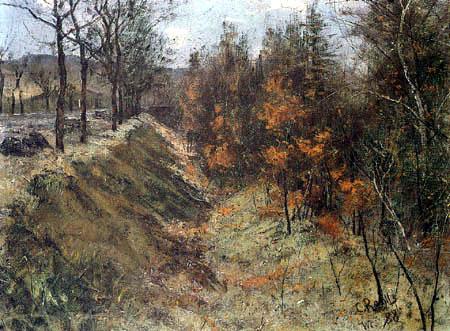 Christian Rohlfs - The ditch
