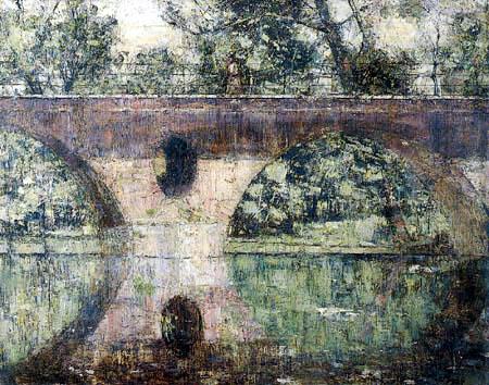 Christian Rohlfs - Die Schloßbrücke in Weimar