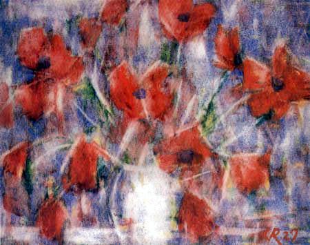 Christian Rohlfs - Poppies