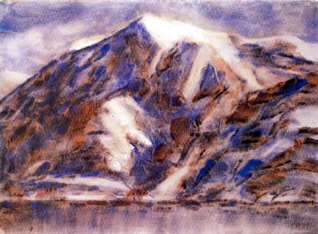 Christian Rohlfs - Monte Tamaro in the winter