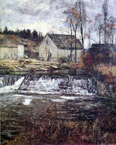 Christian Rohlfs - Cutting mill near Weimar