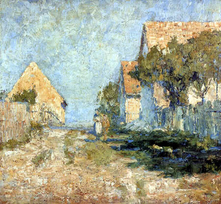 Christian Rohlfs - Sunny Houses