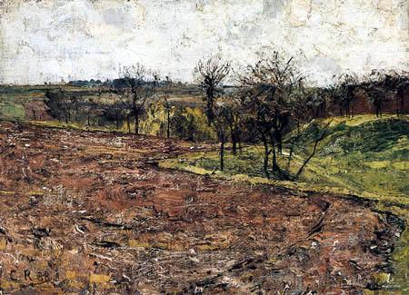 Christian Rohlfs - Landscape in Thuringia