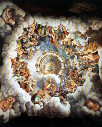 Giulio Romano - Fall of the giants, detail