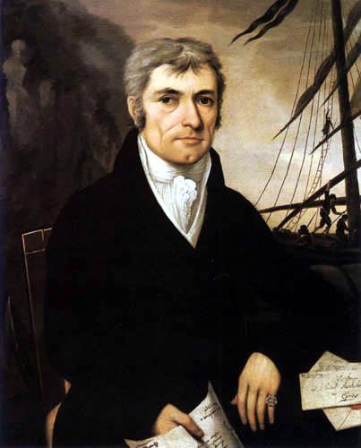Johann Rombauer - The trader Sámuel Steinhübl from Esperjes