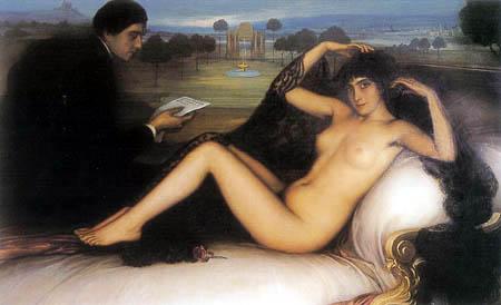 Julio Romero de Torres - Venus de la poesía