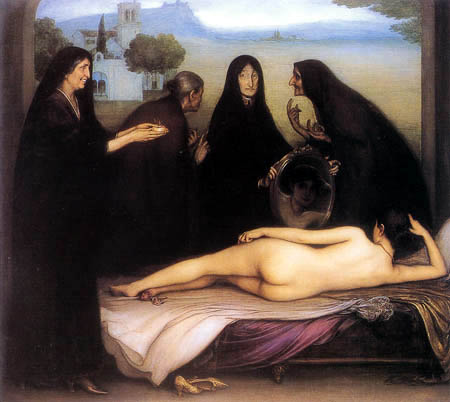 Julio Romero de Torres - The Sin